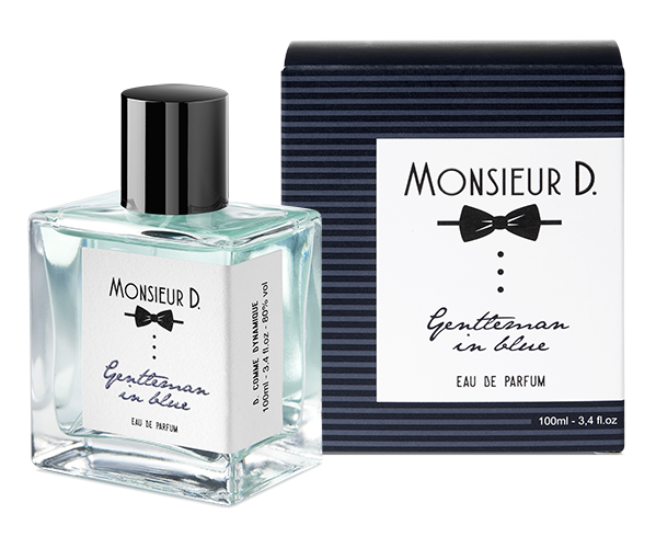 Eaux de Parfum - gentleman in blue
