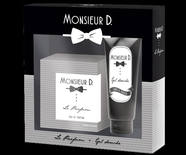 Coffret Eaux de Parfum Le parfum + gel douche